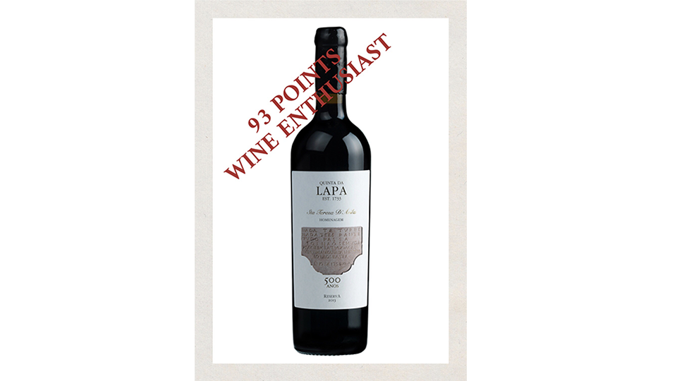 Homenagem 93 Points Wine Enthusiast