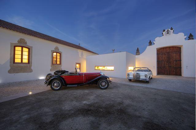 Lissabon, POR, 25.05.2015Sammlung von Mercedes Oldtimer von Luis Guilherme auf der Quinta da Lapa in PortugalNo model release.